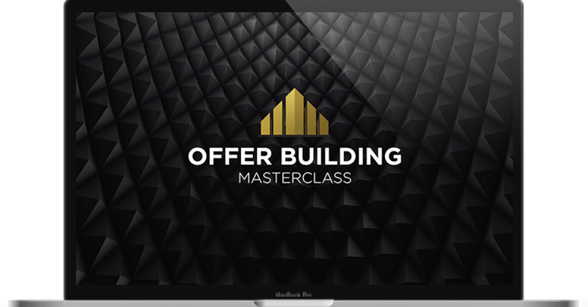Traffic and Funnels – Offer Building Masterclass