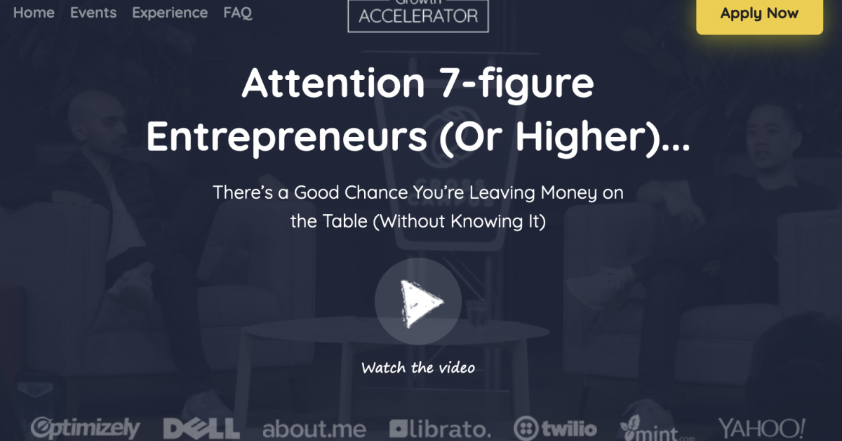Neil Patel – The Growth Accelerator Mastermind